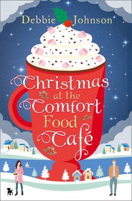 Christmas at the Comfort Food Cafecover art