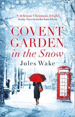Covent Garden in the Snow poster