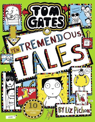 Tom Gates 18: Ten Tremendous Tales (HB) - Tom Gates 18 poster