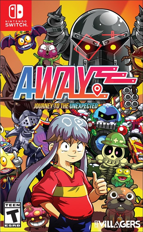 Away: Journey to the Unexpected poster