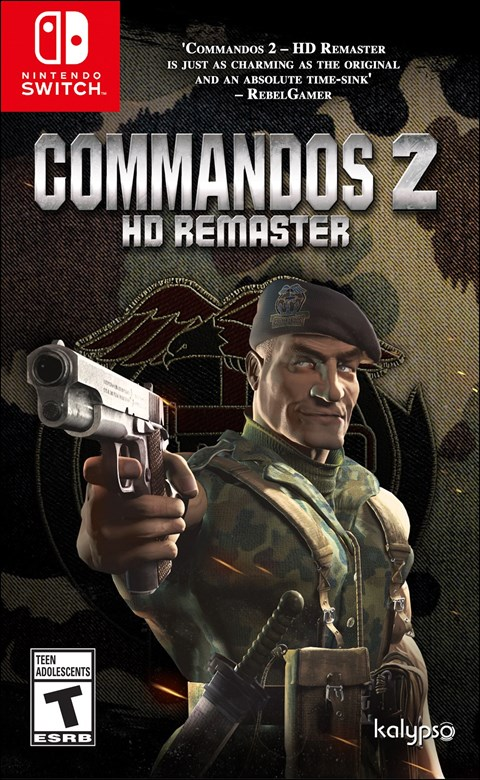 Commandos 2 HD Remaster poster
