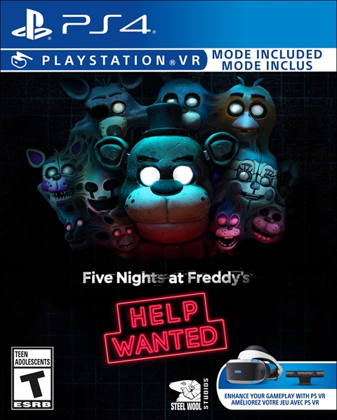 Five Nights at Freddy's: Help Wanted poster