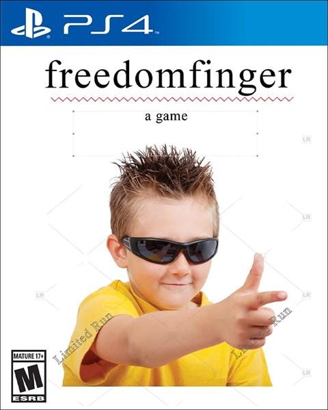 Freedom Finger poster