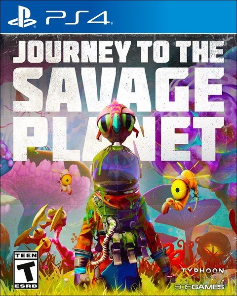Journey to the Savage Planet poster