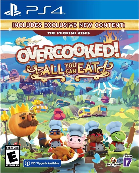 Overcooked! All You Can Eat poster