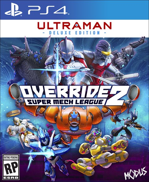 Override 2: Super Mech League - Ultraman Deluxe Edition poster
