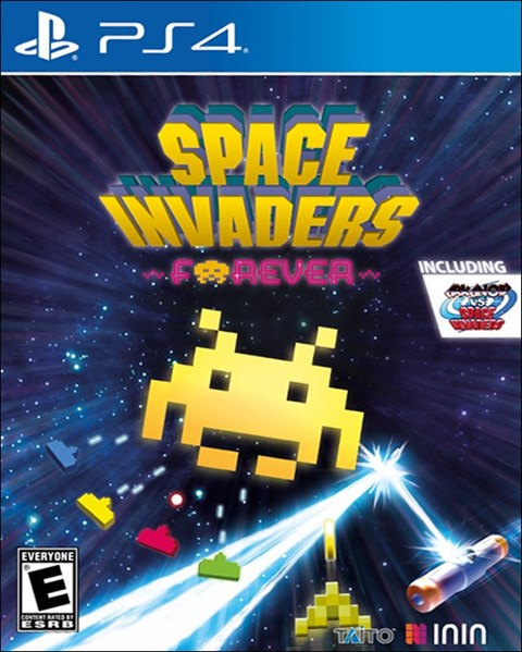 Space Invaders Forever poster