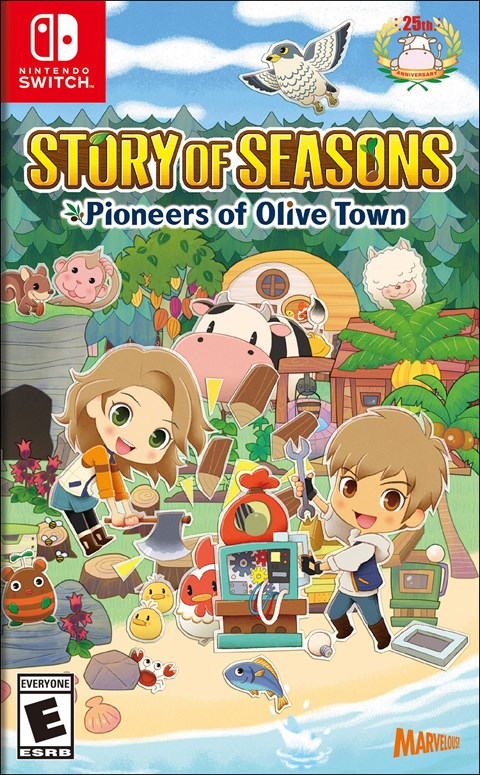 Story of Seasons: Pioneers of Olive Town poster