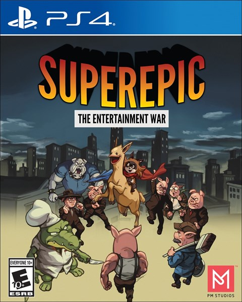SuperEpic: The Entertainment War poster