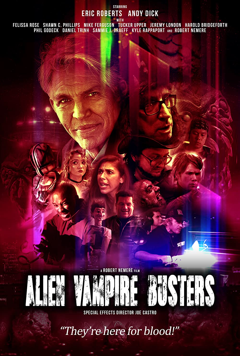 Alien Vampire Busters poster