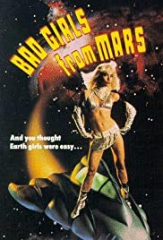 Bad Girls from Mars poster