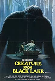 Creature from Black Lake poster