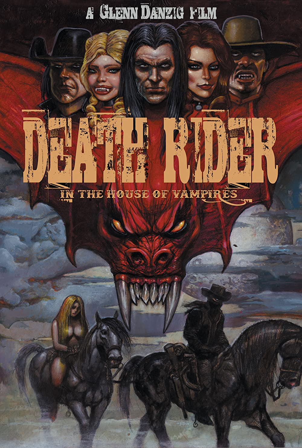 Death Rider in the House of Vampires poster