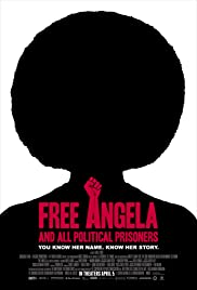Free Angela and All Political Prisoners poster