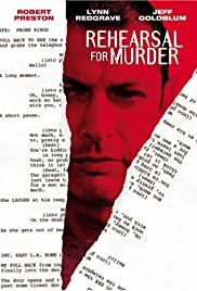Rehearsal for Murder poster