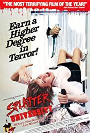 Splatter University poster