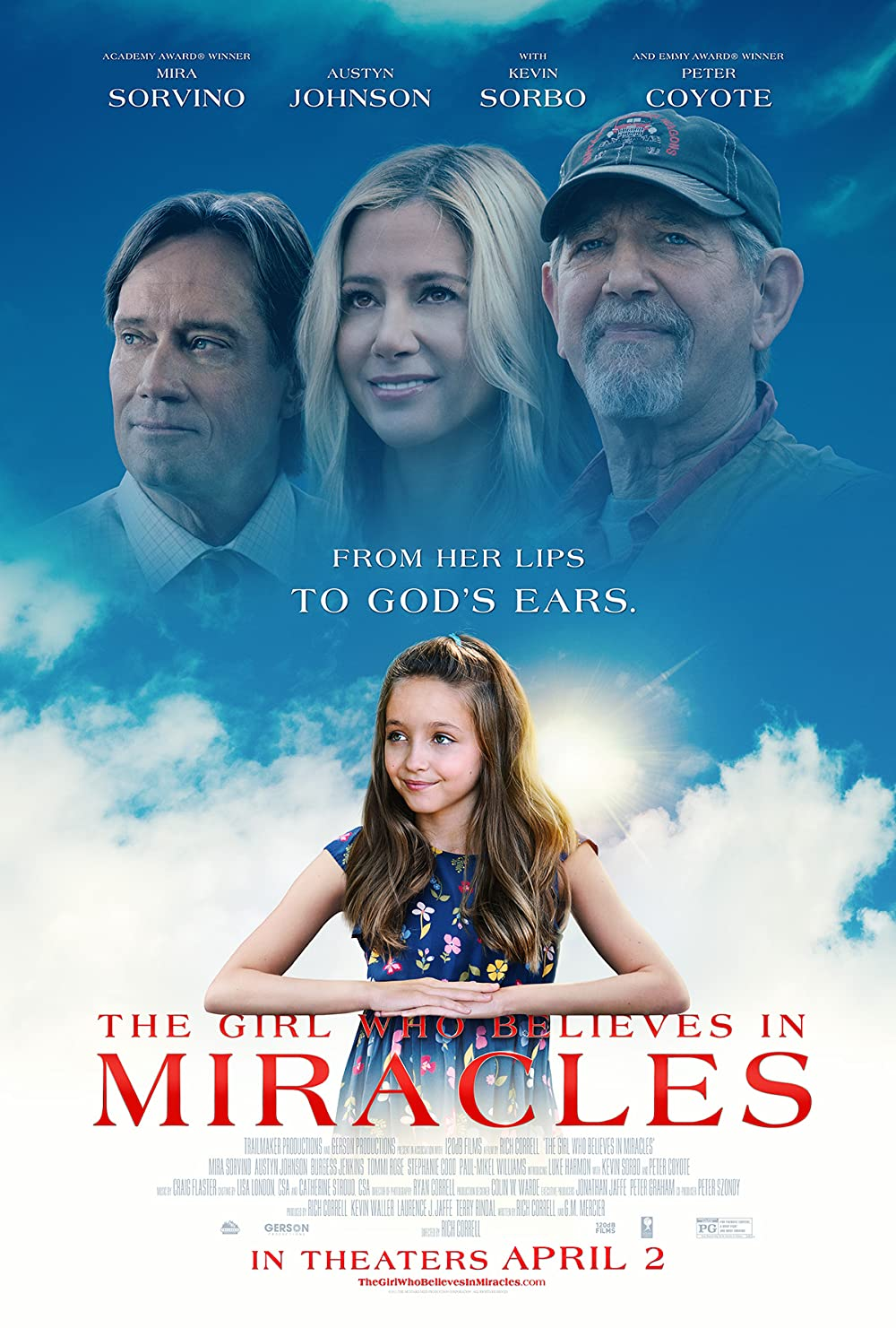 The Girl Who Believes in Miracles poster