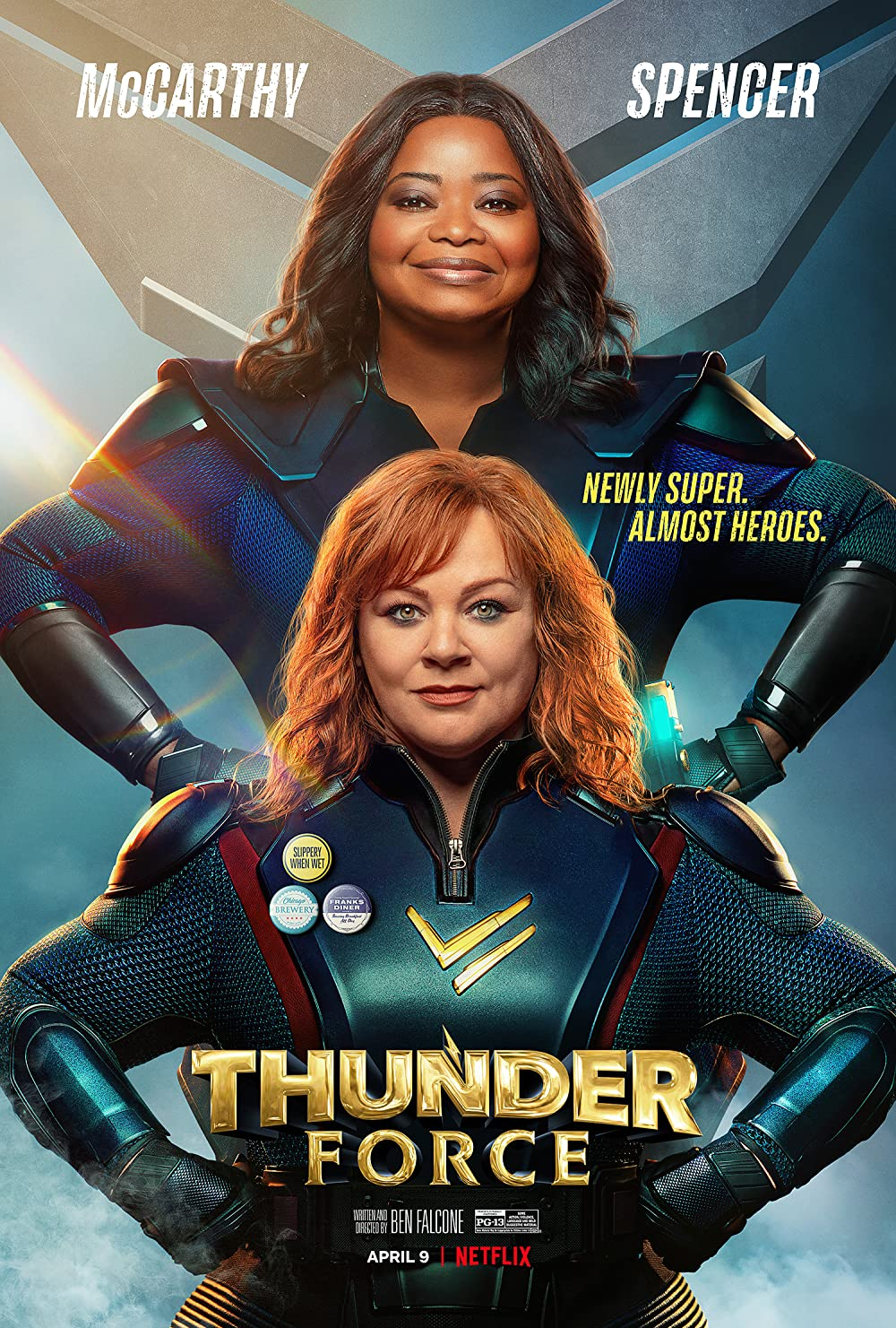 Thunder Force poster