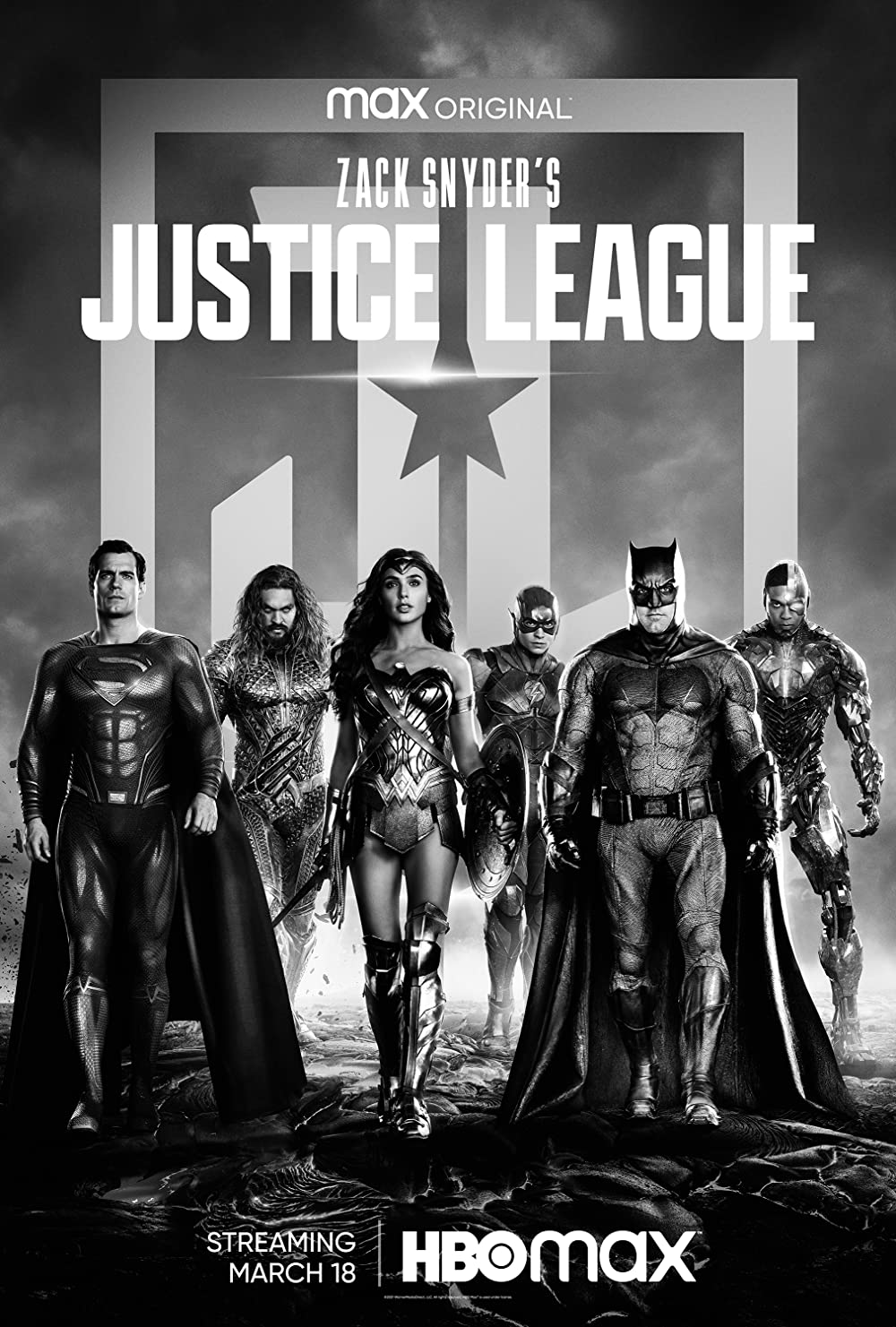 Zack Snyder's Justice League poster