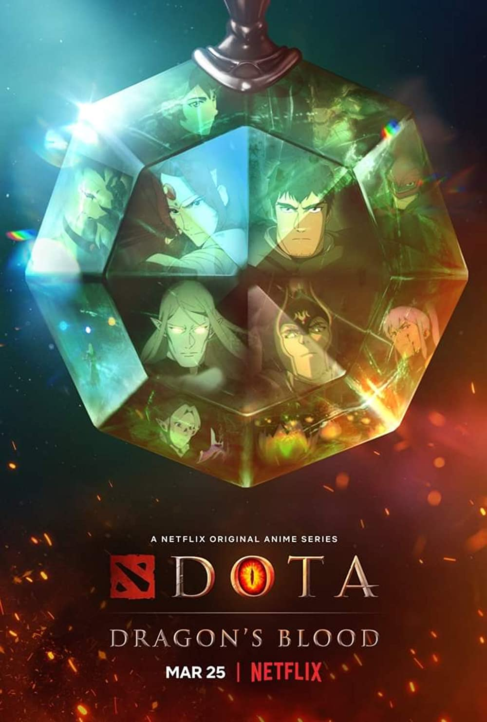 Dota: Dragon's Blood poster