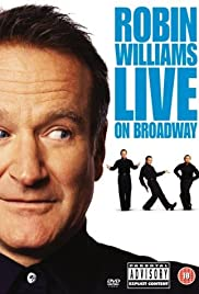 Robin Williams Live on Broadway poster